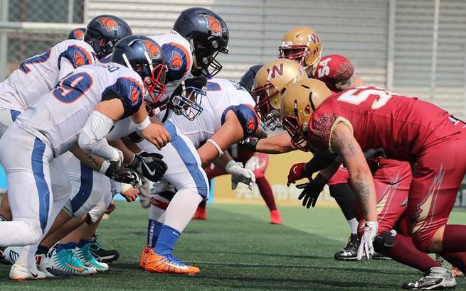 橄欖球:上海勇士勝杭州劍齒虎