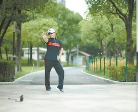 今年上海84%的城市公園延長開放 夜晚公園真熱鬧