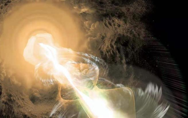 """天文學家成功繪制宇宙中最遙遠的耀變體""""倩影"""""""