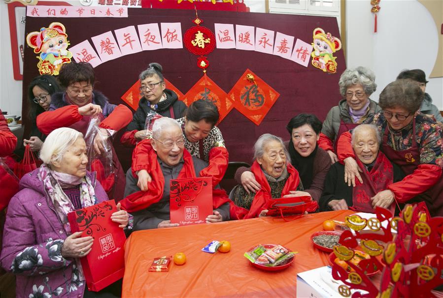 上海:溫馨年夜飯