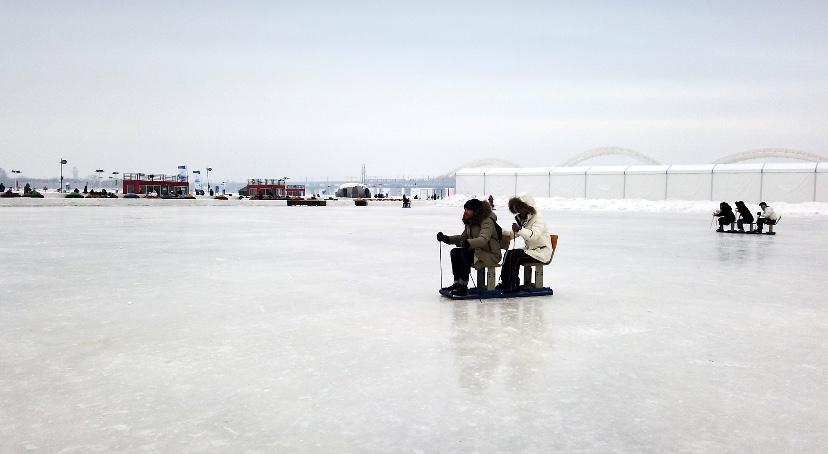 冬趣:玩轉哈爾濱——傳統爬犁劃出冬天新樂趣
