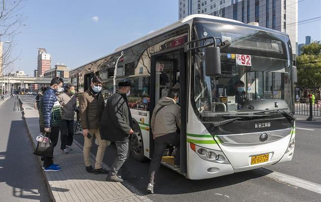 上海要求乘坐公交、出租車乘客必須佩戴口罩