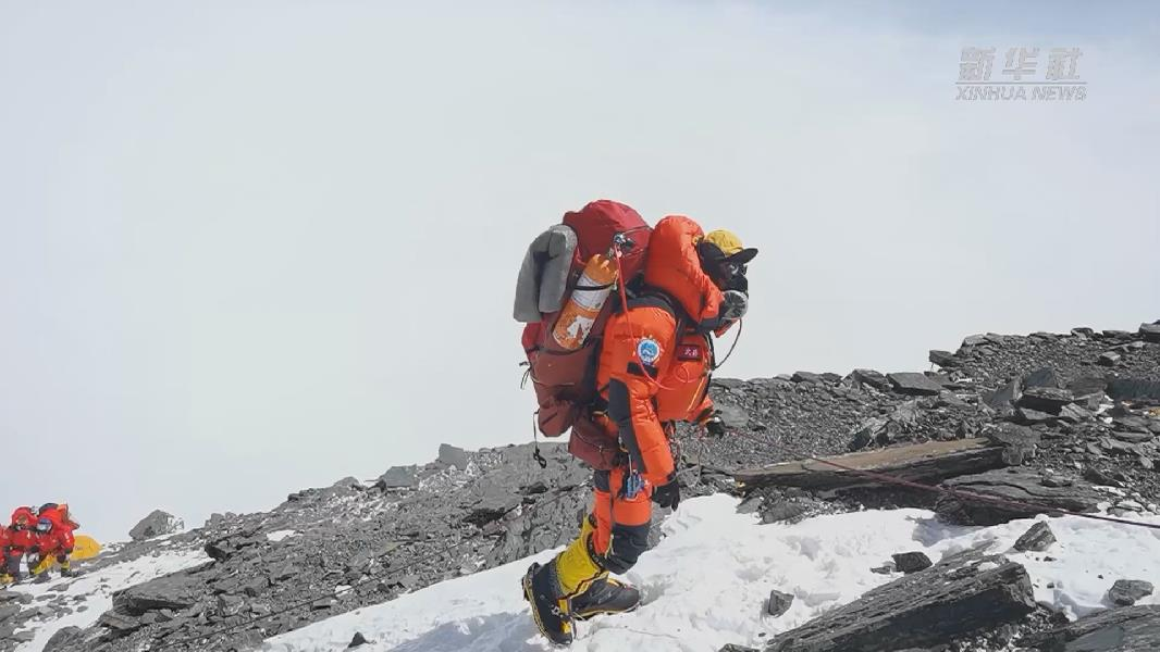 2020珠峰高程測量公布新一輪衝頂隊員名單 計劃27日衝頂