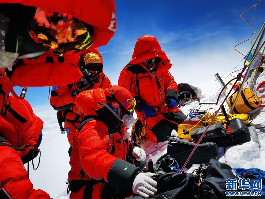 無懼風雪 不止攀登——記2020珠峰高程測量