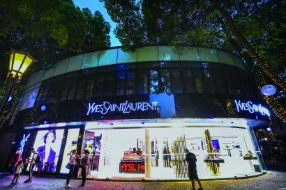 上海首店經濟確立全球范圍持續吸引力