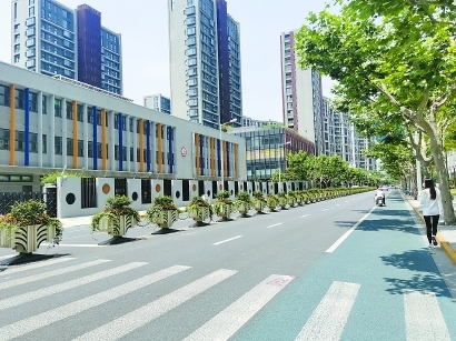 上海馬路變樣了!百條精品示范路亮相