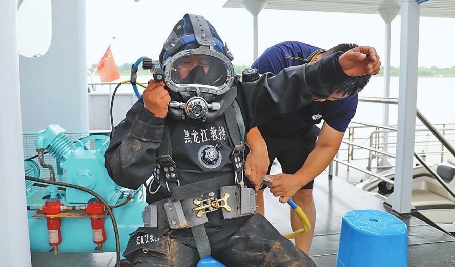 潛水演練救援