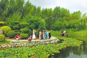 中國亭園全面開放