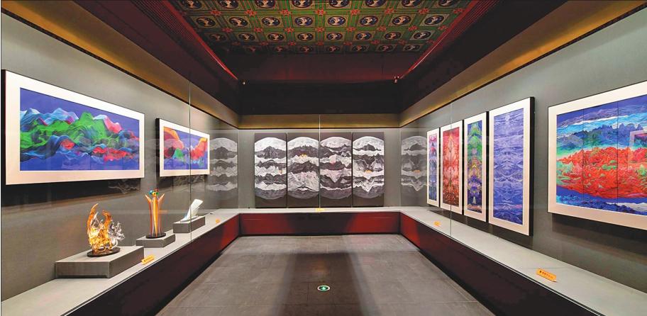 176件龍江題材藝術品亮相迎冬奧冰雪藝術展