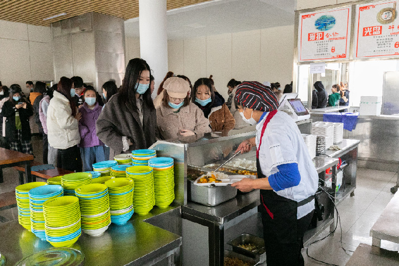 """黑龍江外國語學院舉行""""壹元學子餐廳""""專項捐贈儀式"""