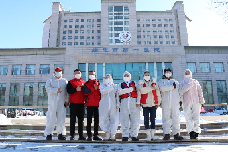 綏化市愛心傳遞青年志願者服務隊:疫情中彰顯志願力量