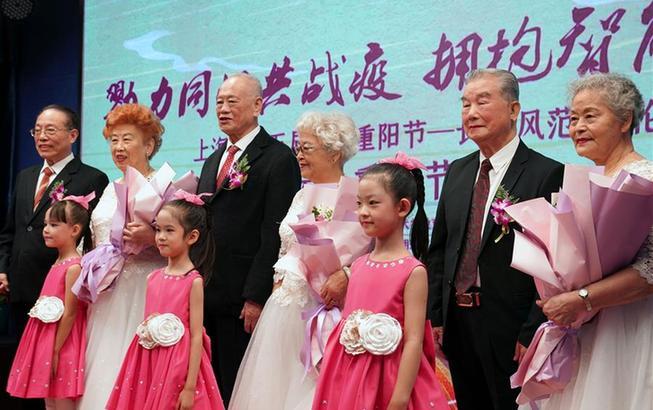 上海:老年大學學員迎重陽