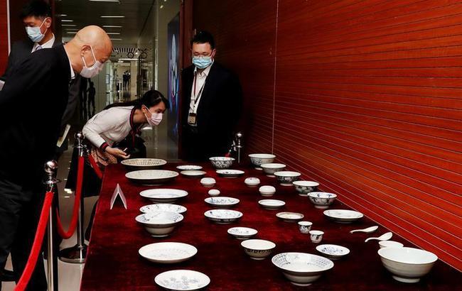"""""""泰興號""""珍貴瓷器捐贈研討會在中國航海博物館舉行"""