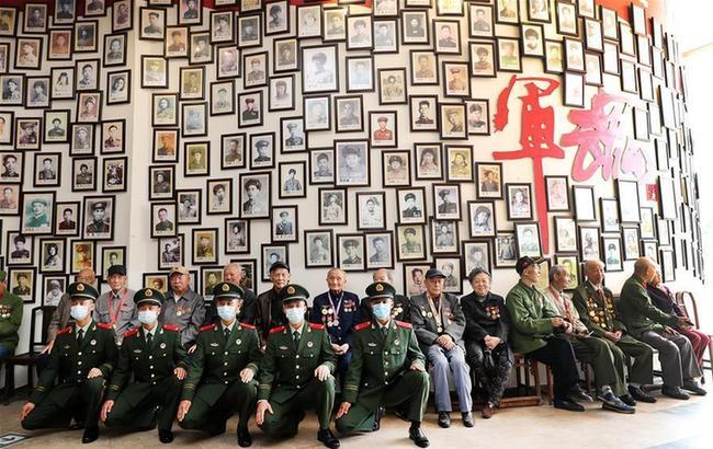 上海舉行紀念中國人民志願軍抗美援朝出國作戰70周年活動