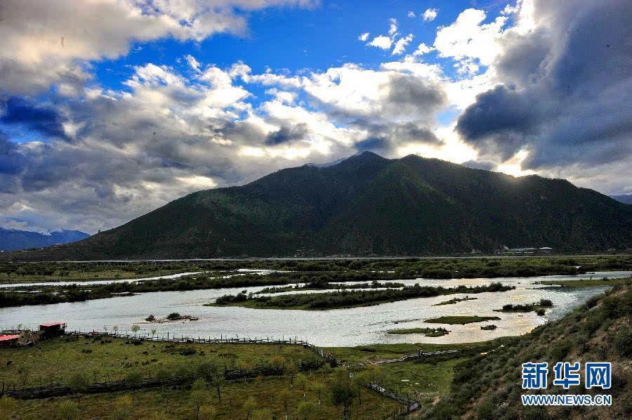 雅魯藏布江中遊風沙得到有效遏制