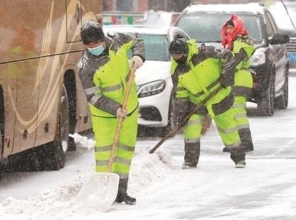 出動超18000人次! 哈爾濱市主幹街路積雪當日清理完畢