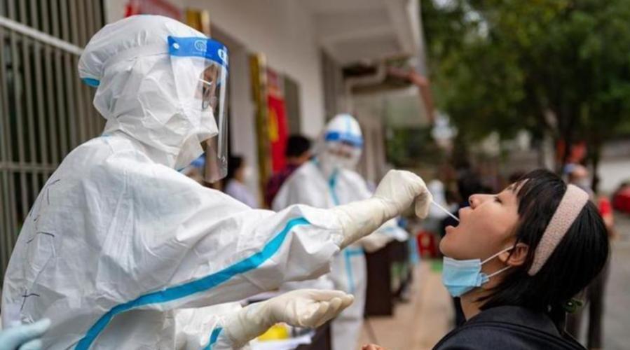 雲南瑞麗市區開展第二輪全員核酸檢測
