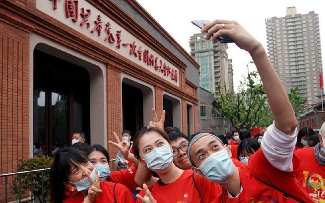 """上海青少年:從""""初心之地""""出發 尋訪紅色記憶"""