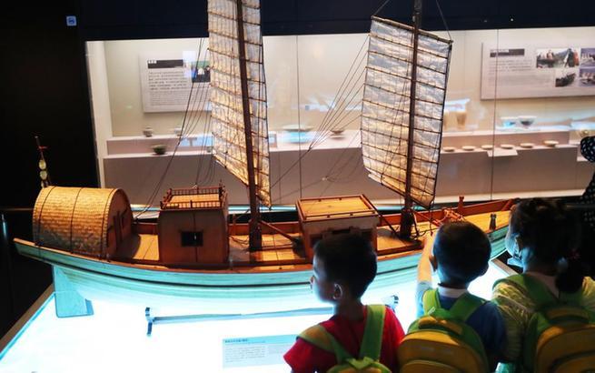 上海:在博物館學習海洋知識