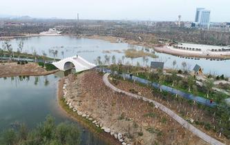 河北邯鄲:採煤塌陷地變生態公園
