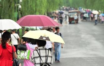 杭州開啟新一輪降雨模式