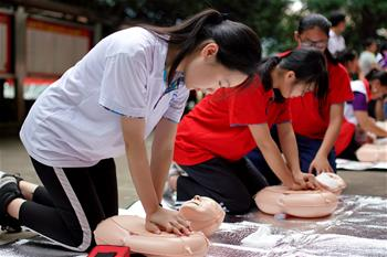 廣西龍勝:夏季安全教育進校園