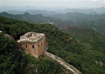 北京搶險修繕明長城東溝段