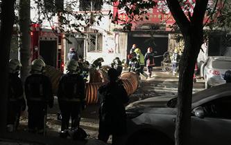 北京大興西紅門鎮新建村發生火災 已造成19人死亡