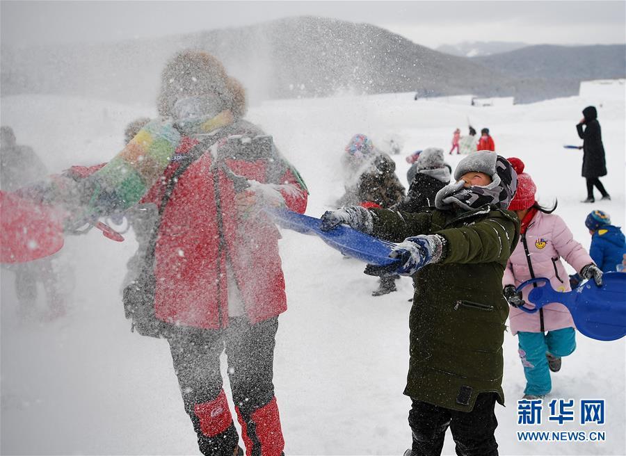 """(社會)(7)新疆禾木:冰天雪地""""別樣跨年"""""""